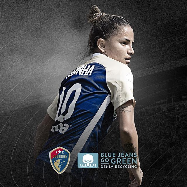 Excited to be heading to the @thenccourage regular season finale this Saturday with our client @discovercotton If you are in the area, bring your #denim! Denim Recycling Night! https://lnkd.in/esTmmpU