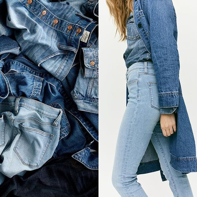 Recycle ANY old denim with your local J.Crew + #BlueJeansGoGreen. You'll provide housing insulation for those in need, PLUS get $20 toward a new pair.