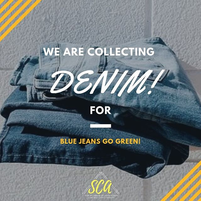 Our friends from @prssalb are collecting pieces of denim that will be up-cycled into insulation for communities in need! . . The club that collects the most pieces of denim will receive a special prize from @prssalb! 🏽 . . Help SCA win while at the same time contributing to an awesome cause! 🏽 . . .