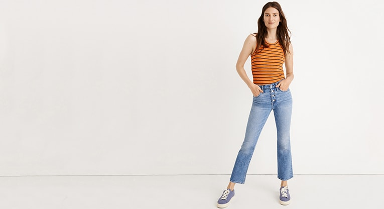 2fc11d6f79adf9 Drop off your denim year round at any Madewell location and get $20 off a new  pair of jeans. Restrictions apply.